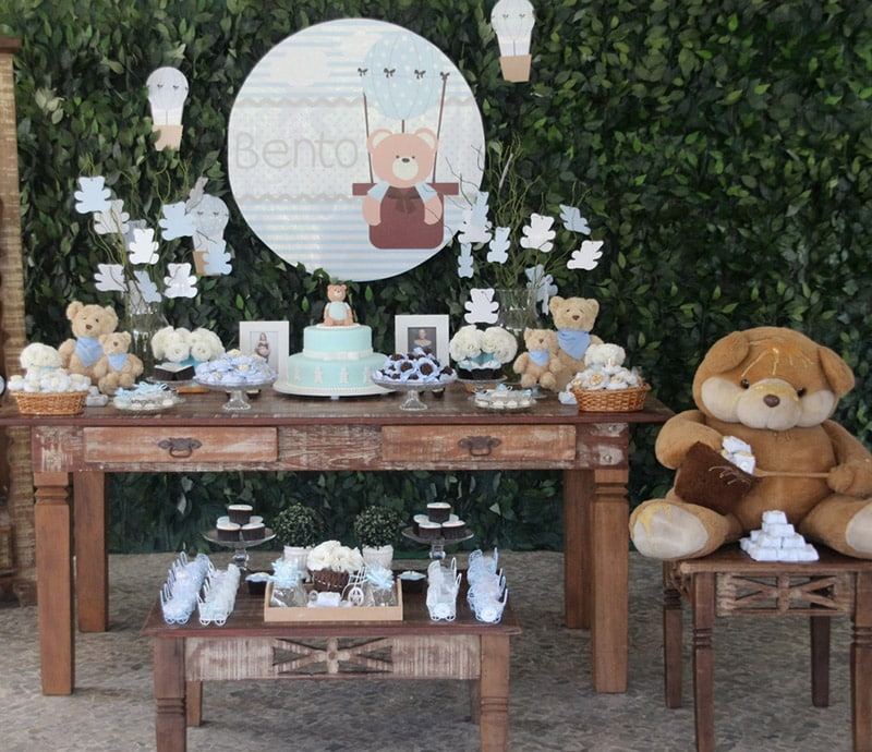 temas para chá de bebê de menina e menino