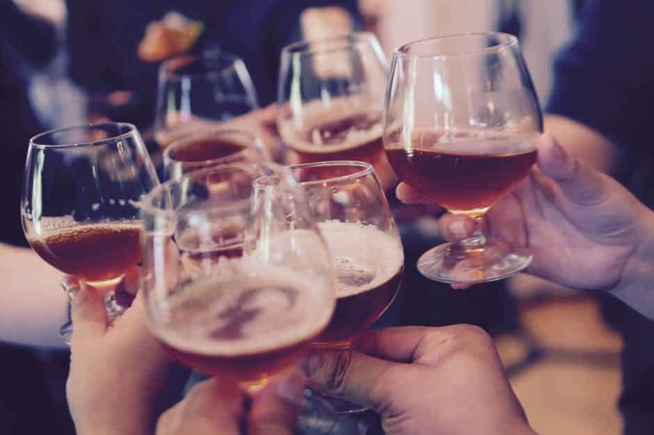 Para os papais, cerveja no menu
