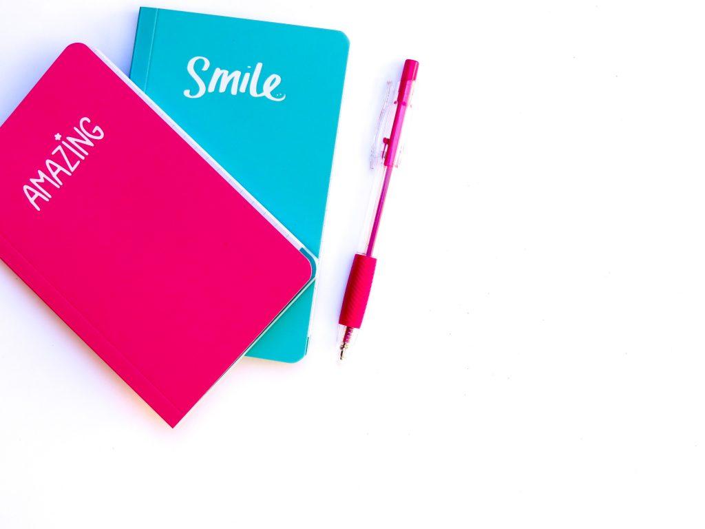 Planejamento rosa e azul <3