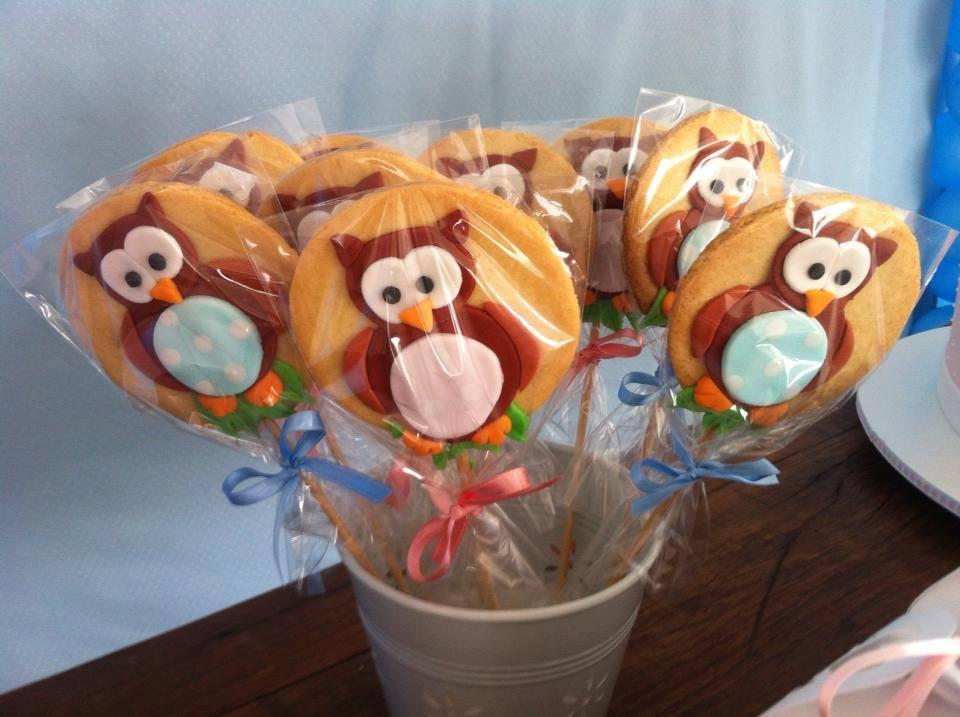 Biscoitos de corujinhas