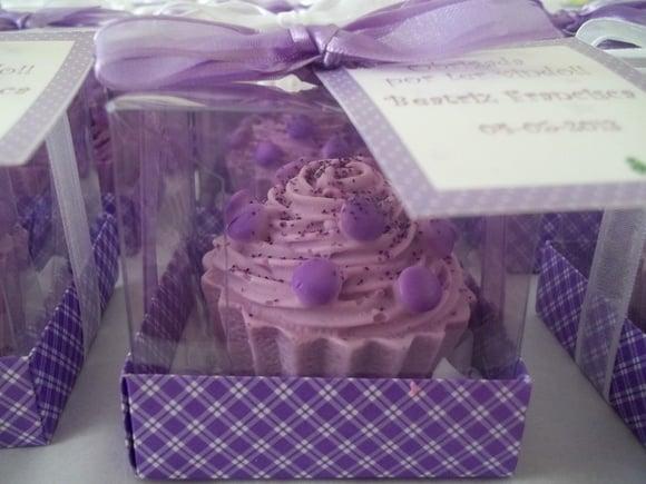 Sabonete de cupcake