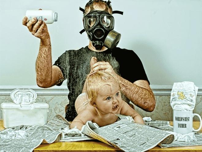 Para ilustrar nada melhor que imagem do papai Dave, do World's Best Father (vale a pena acompanhar)