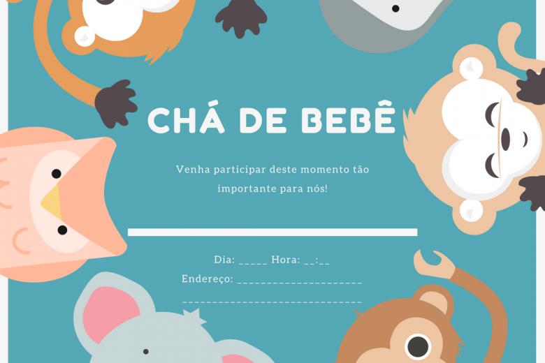Convite De Chá De Bebê Dicas E 10 Modelos Para Você Usar Lá Vem Bebê