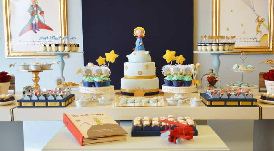 O Pequeno Príncipe - destaque na literatura, na decoração do quarto e na decoração do chá de bebê