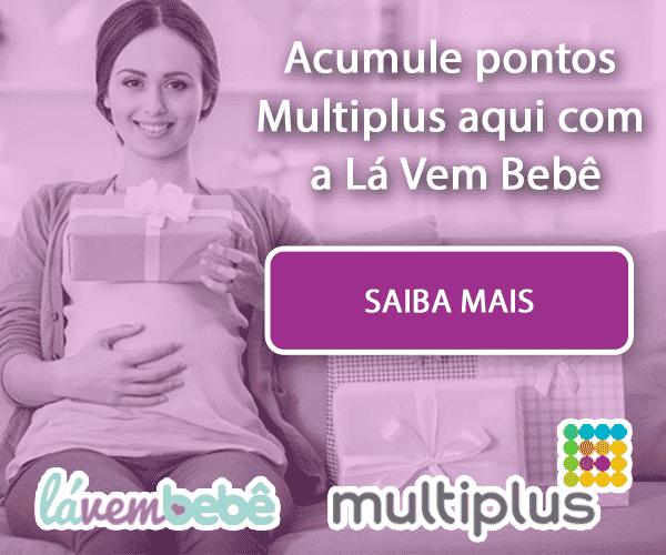 Parceria Lá Vem Bebê e Multiplus