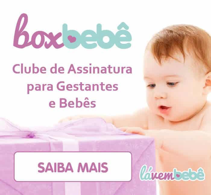 Box Bebê - Clube de assinatura de produtos para Gestantes e Bebês