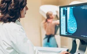 Exame câncer de mama