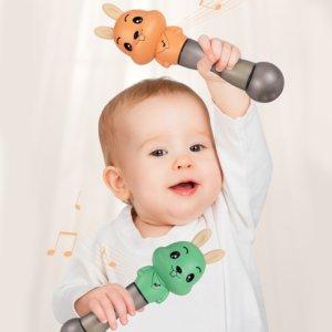 bebê e os sons