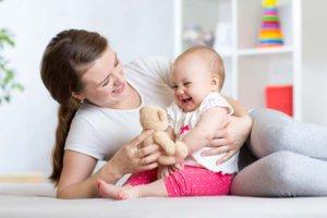 Salto de desenvolvimento do bebê